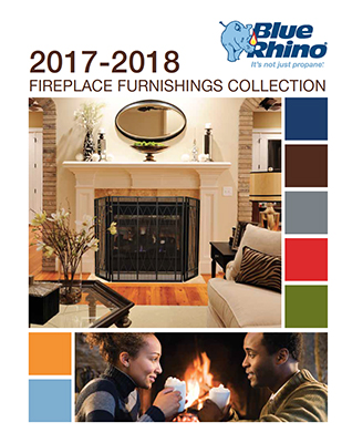 Blue Rhino Uniflame Fireplace Furnishings Catalog